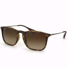 Oculos Rayban Chris 4187 Marrom/tartaruga/preto/espelhado