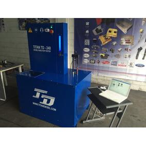 Laboratorio De Inyectores Diesel Eui Titan Td-cambox