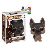 Perro Pastor Aleman Cachorro Funko Pop Pets Mascota Dog Cf