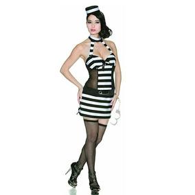 Disfraz Sexy Presa Cárcel Dama Delicious Sexywear