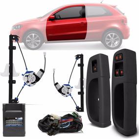 Kit Vidro Elétrico Sensorizado Gol G6 G7 Saveiro G5 G6 G7 2p