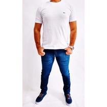 Calça Jeans Masculina Skinny Colorida Com Lycra