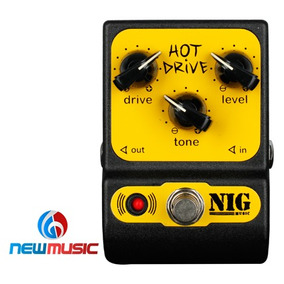 Pedal Guitarra Nig Hot Drive Phd Nig