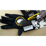 Luvas Motocross Msr Metal Mulisha Volt Preta/amarela Media