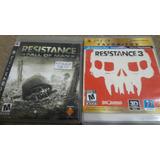 Resistance Fall Of Man Y Resistence 3 Para Ps3