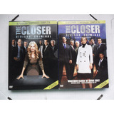 Box Dvd The Closer 1,2,3,4 Temporadas Completas