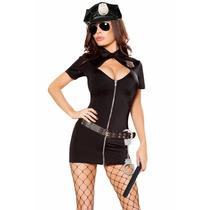 Sexy Disfraz Policia Cinturon Gorra Baton Table Dance Fiesta