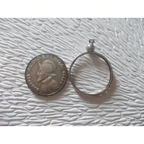 Ab125- Moneda Panama Medio Balboa Año 1968