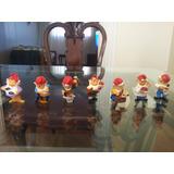 Coleção Miniaturas 7 Anões Profissões - Surpresa Kinder Ovo