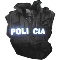 Chaleco Tactico Armys Police 5 Bolsas + Porta Arma