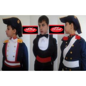 Pecheras Patrias San Martín, Belgrano, Granadero, Caballero.