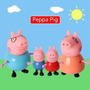 Bonecos Peppa Pig E Familia - Mini Figuras Fisher Price