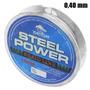 Linha Para Pesca Multifilamento Steel Power 150 M 0,40 Mm