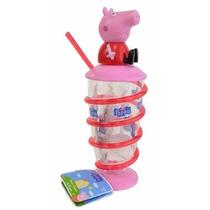 Doce Copão Canudo 3d Peppa Pig Preço Por Unidade