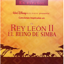 Cd El Rey Leon 2 El Reino De Simba Walt Disney Soundtrack