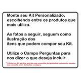 Kit Unhas Tips Acrigel Porcelana Personalizado Monte O Seu