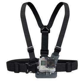 Suporte Peitoral Peito Gopro Câmeras Acessório Ajustável