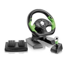Volante Para Xbox360 E Pc/compu Usb Pro50 C/pedais E Câmbio