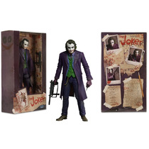 Joker Coringa Heath Leadger 18 Cm Action Figures Neca Batman