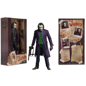 Joker Coringa Heath Leadger 18 Cm Action Figures Neca Batman