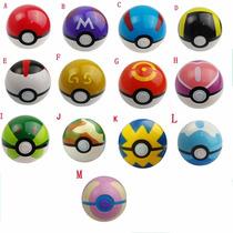 Pokebolas Con Pokemon 13 Diferentes Modelos