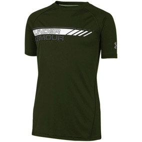 Playera Atletica Ua Heatgear Niño Under Armour Ua774