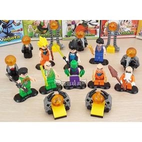 Dragon Ball Z 8 Figuras De Acción Compatible Con Lego