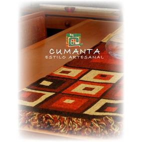 Caminos De Mesa - Textil Artesanal Chenille - 1,60 X 0,35
