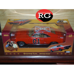 General Lee The Dukes Of Hazzard Escala 1:18 -