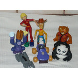 Muñecos Mac Donalds Burger King Kunfu Panda Toy Story