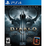 Diablo 3 Ps4 Digital Reaper Of Souls Ultimate Evil Edition