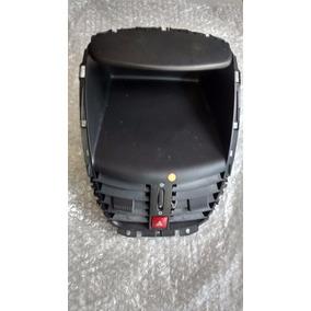 Moldura Computador C/difusor Ar De Bordo Peugeot 207 07/12