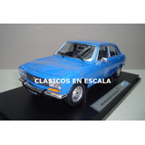 Peugeot 504 1975 - Clasico Argentino - Azul - Welly 1/18