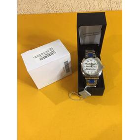 Reloj August Steiner As8160ss Silver Tone Nuevo
