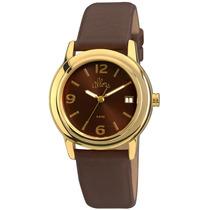 Relógio Allora Feminino Al2115ag/2m