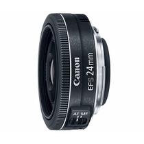 Lente Canon Ef-s 24mm F/2.8 Stm Grande Angular Fixa Prime