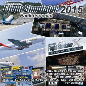 Flight Simulator 2015mas De100 Aviones +2pmdg Gratis