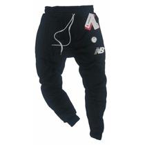 Pantalon Babucha New Balance Jogging Chupin Algodon Frisado