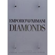 Perfume Emporio Armani Diamonds Edp 100 Ml Lacrado