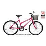 Bicicleta Aro 24 Cairu Mtb Bella C/ct Rosa/pink