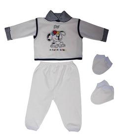 Pagão 5 Peças Estampado Para Bebê Recém Nascido Promoção