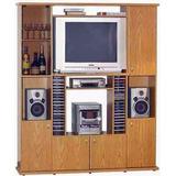 Modular Rack Col. Roble Platinum - Mod. 553 - Livin House!