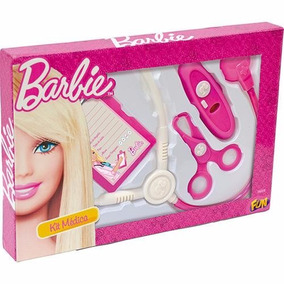 Kit Médica Básico Barbie 7623-0 - Fun Nf