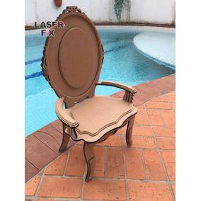 Cadeira Infantil Mdf 9mm Trono Troninho