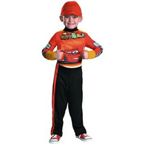 Disfraz Niño Disfraz De Disney Cars 2 Rayo Mcqueen Del Equi