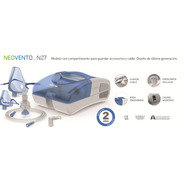 Nebulizador A Piston C/ Aspirador Nasal N27 Silfab