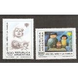 Argentina 1208/9 Gj 1906/7 Año Internacio. Del Niño Año 1979