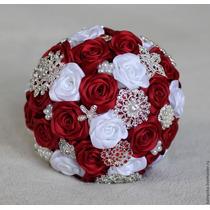 Hermosos Bouquet Para Novias Y Damas De Honor Quinceañeras
