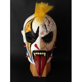 Psycho Clown. Máscara De Látex. Luchador /depredador