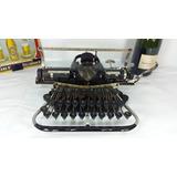 Antigua Máquina De Escribir Alemana Blick7 Colección Vintage